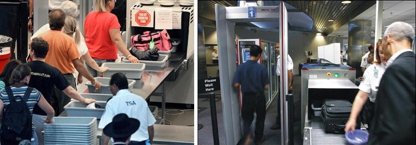 Облучение в аэропорте на беременных